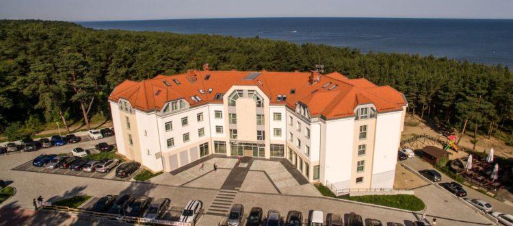 White Resort Krynica Morska hotele blisko morza