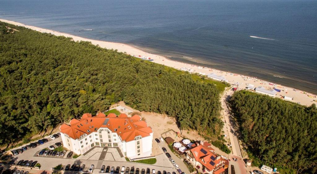 Najcieplejsze miejsce nad Morzem Bałtyckim