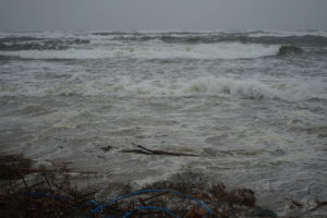 Sylwester na plazy Krynica Morska