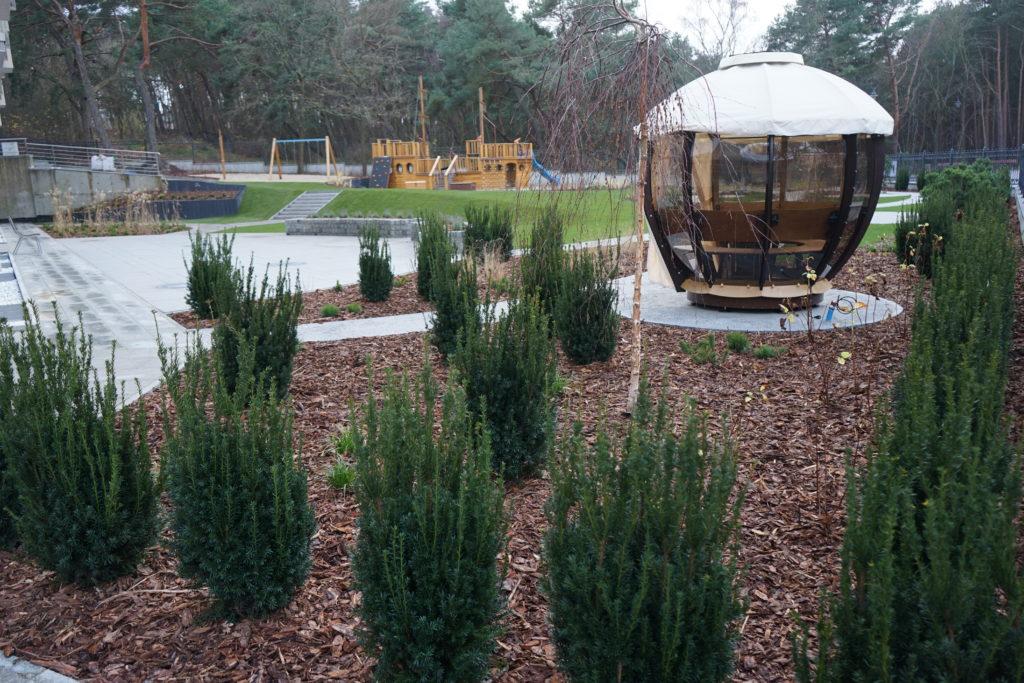 ogród rekreacyjny