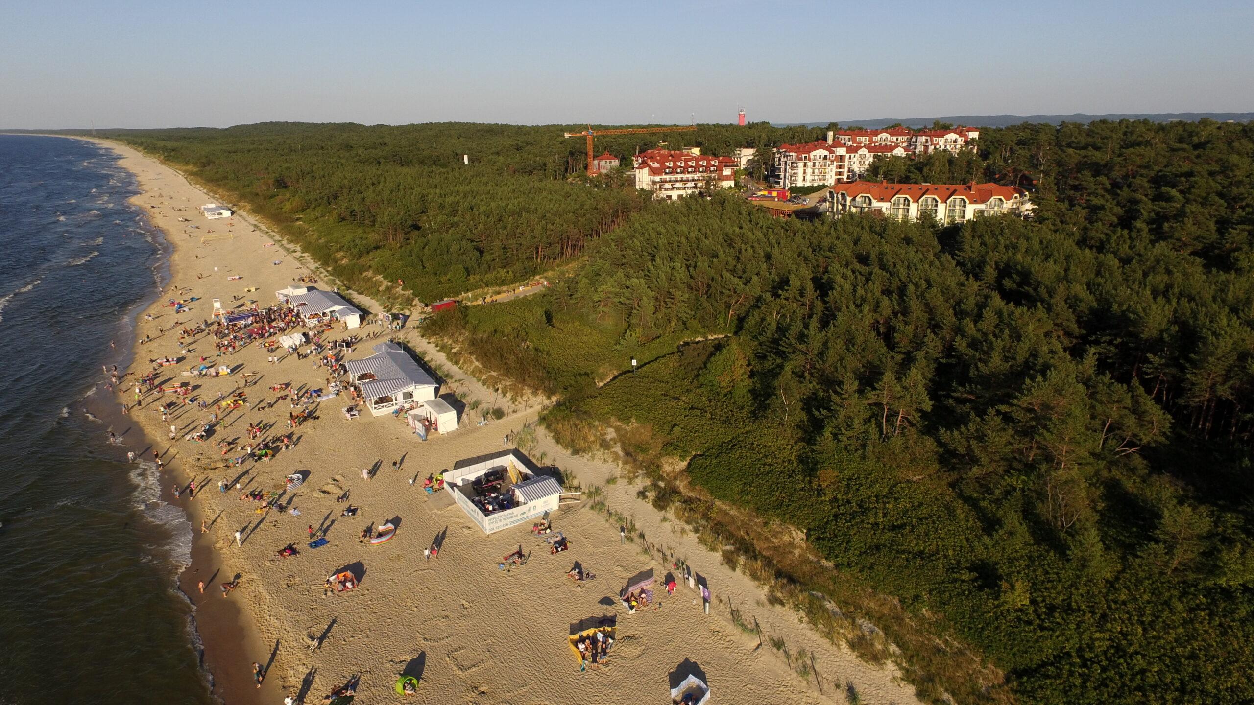 krynica morska hotel nad samym morzem
