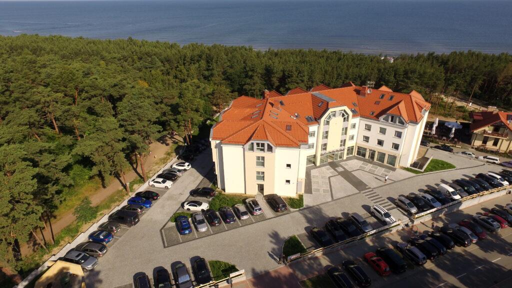 Hotele Krynica Morska nad morzem