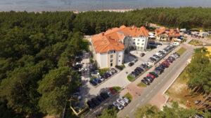 White Hotel Krynica Morska noclegi